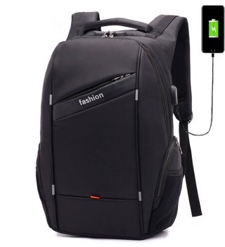 Classic Style travel Black Backpacks